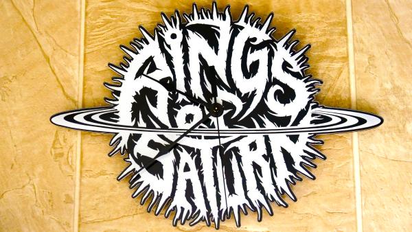 Glow in the Dark Dingir Logo Wall Clock