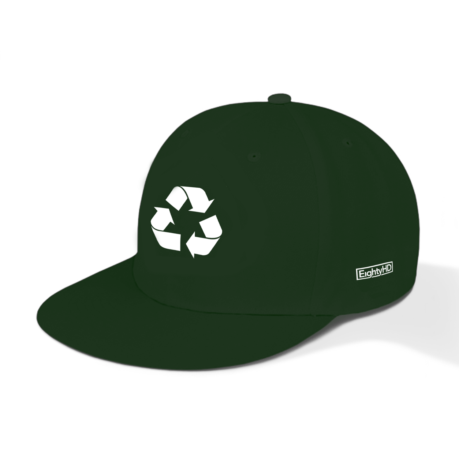 Recycle Logo Snapback Cap