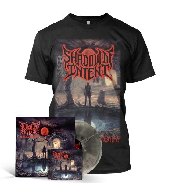 Melancholy CD + Nocturnal LP + Tee Bundle