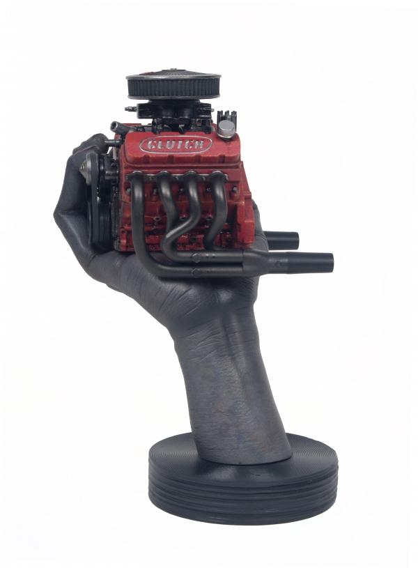 Clutch 454 Sculpture