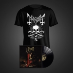 Daemon LP (Black) + Death T-Shirt Bundle