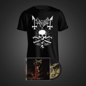 Pre-Order: Daemon CD + Death T-Shirt Bundle