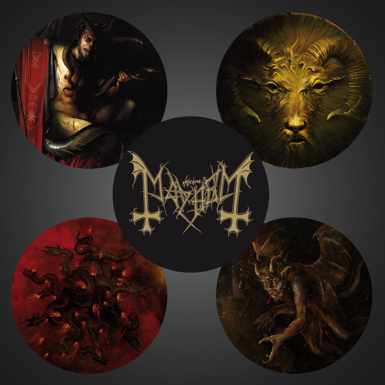 Daemon LP (Black) + Winged Demon Long Sleeve Bundle