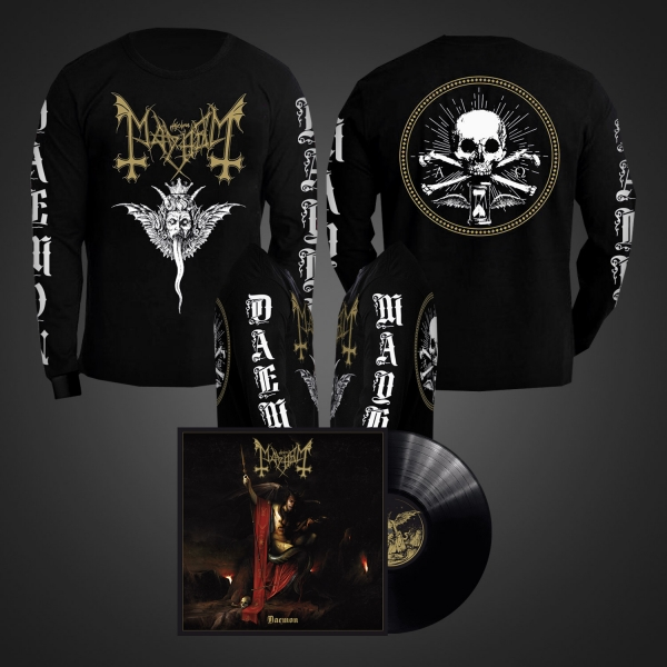 Daemon LP (Black) + Winged Demon Long Sleeve Bundle