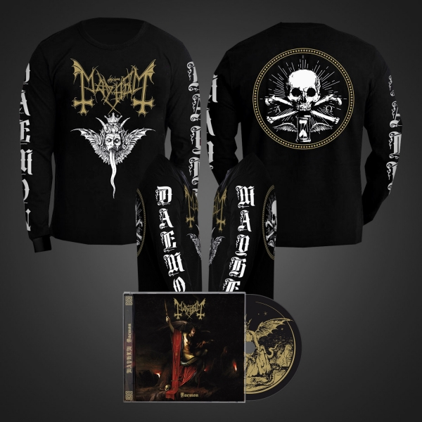 Daemon CD + Winged Demon Long Sleeve Bundle