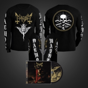 Pre-Order: Daemon CD + Winged Demon Long Sleeve Bundle