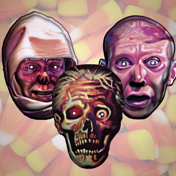 Scream Bloody Gore, Leprosy and Spiritual Healing Halloween Mask Pack