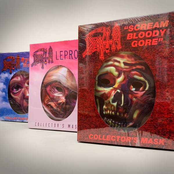 Scream Bloody Gore, Leprosy and Spiritual Healing Collector's Mask Pack