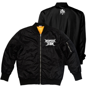 Purgatory Logo Embroidered Bomber