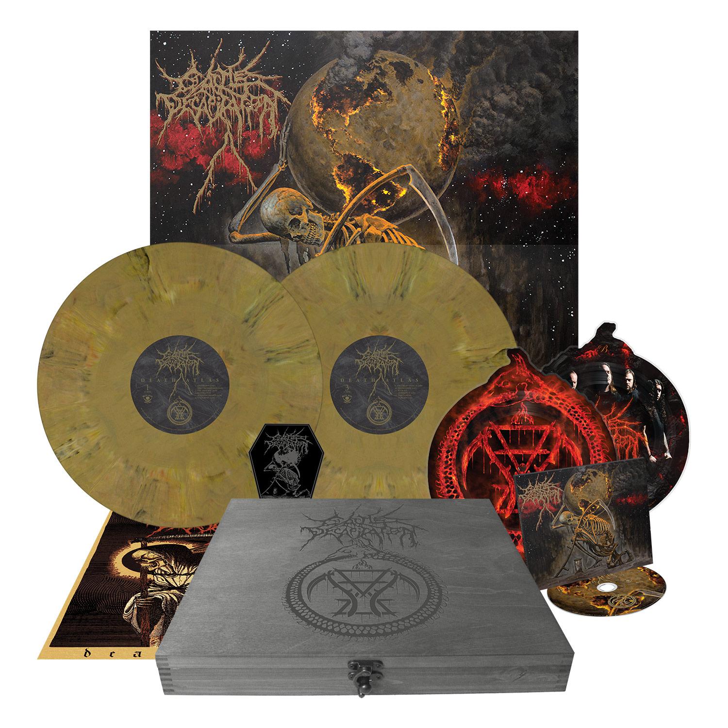 Death Atlas (Box Set)