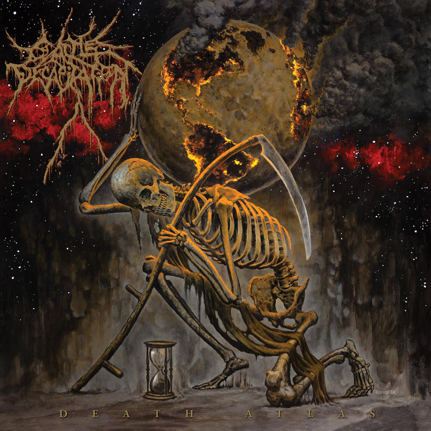 Death Atlas (Vomiting Lava)