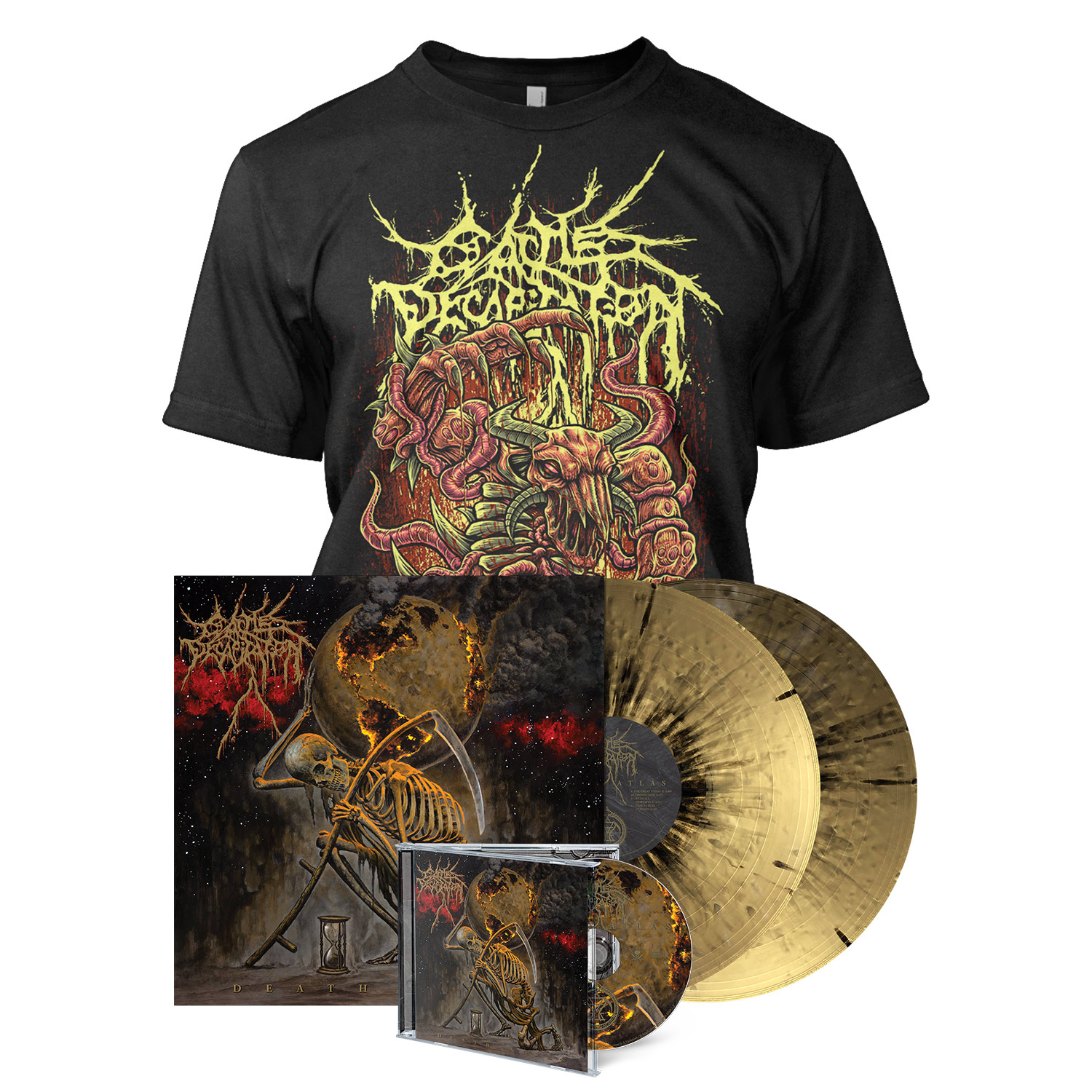 Death Atlas - Deluxe CD Bundle -  The Beast