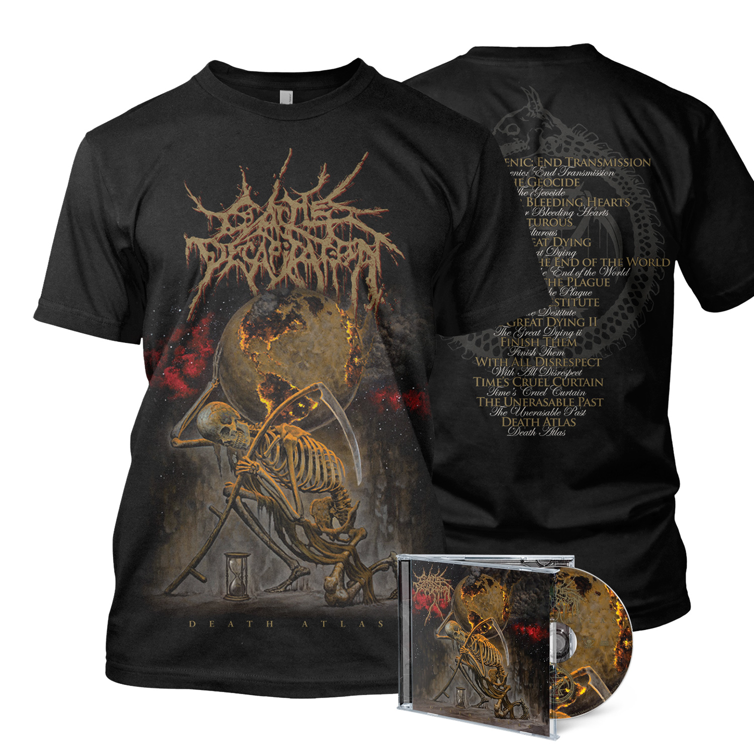 Death Atlas - CD/Tee Bundle