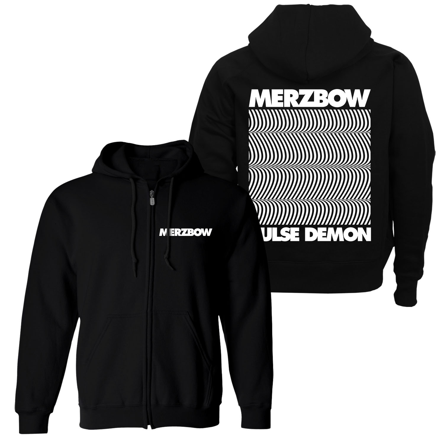 Pulse Demon Zip Up Hoodie + Reissue 2LP Bundle
