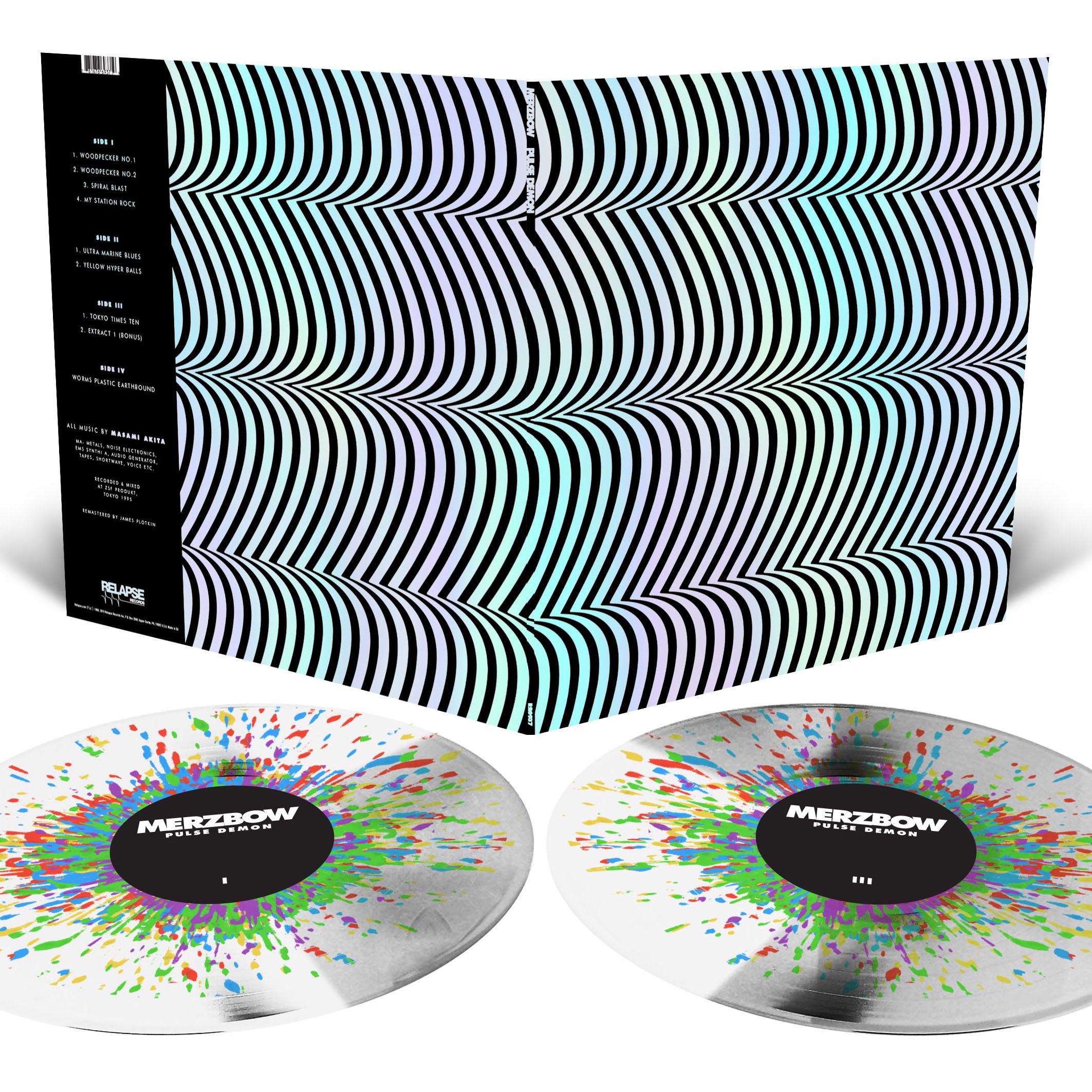 Pulse Demon Longsleeve Shirt + Reissue 2LP Bundle