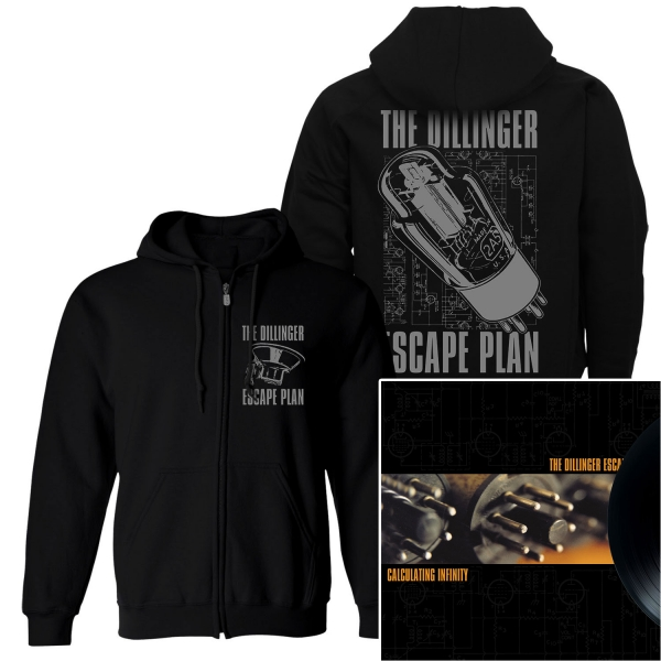 Transistor Zip Up Hoodie + Calculating Infinity Reissue LP Bundle