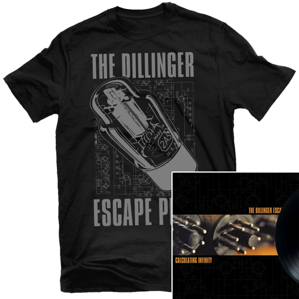 Transistor T Shirt + Calculating Infinity Reissue LP Bundle