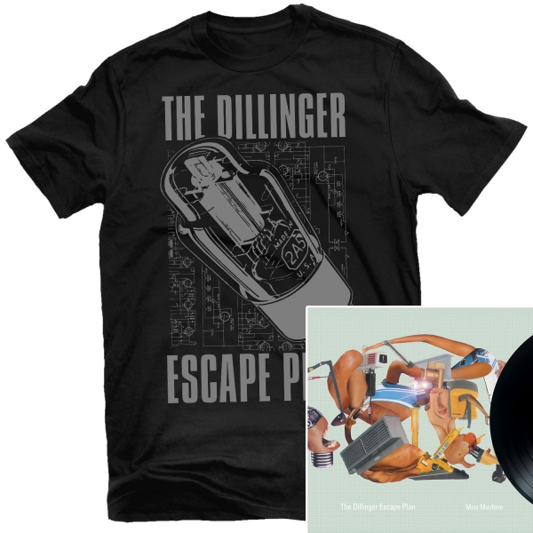 Transistor T Shirt + Miss Machine Reissue LP Bundle