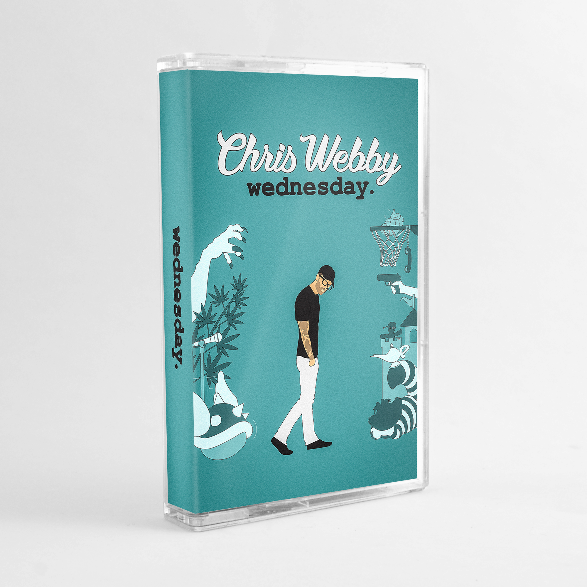 Wednesday Limited Edition Cassette Tape