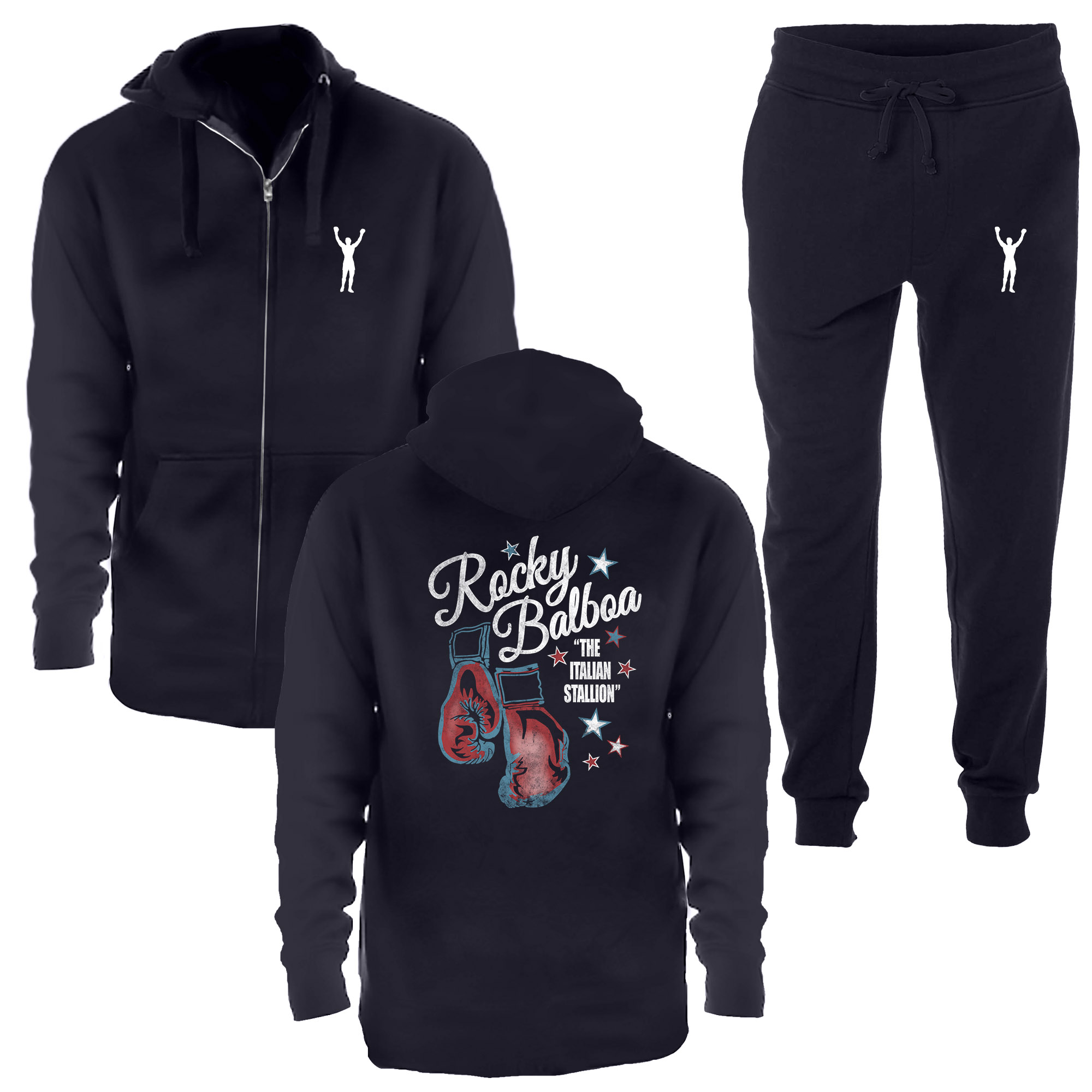 Rocky Balboa Navy Jogging Suit