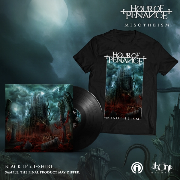 Misotheism LP + Tee Bundle
