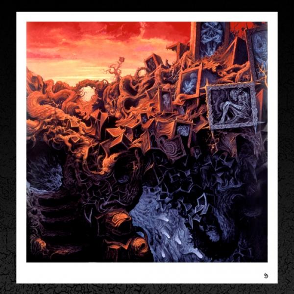 Gorguts. 'Erosion of Sanity' Album Cover