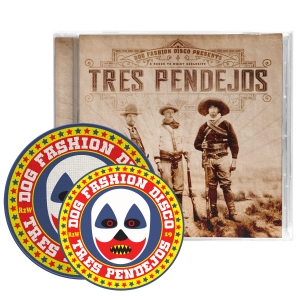 Tres Pendejos CD/Patch/Sticker Bundle