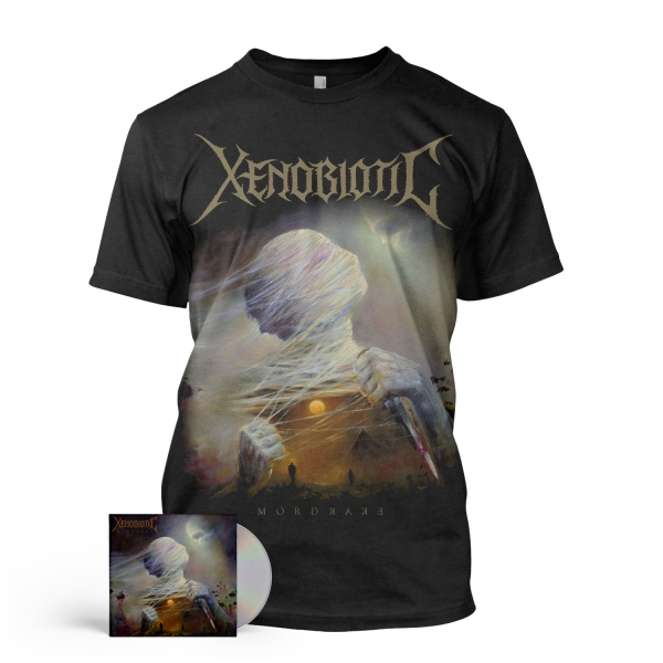Mordrake Tee + CD Bundle