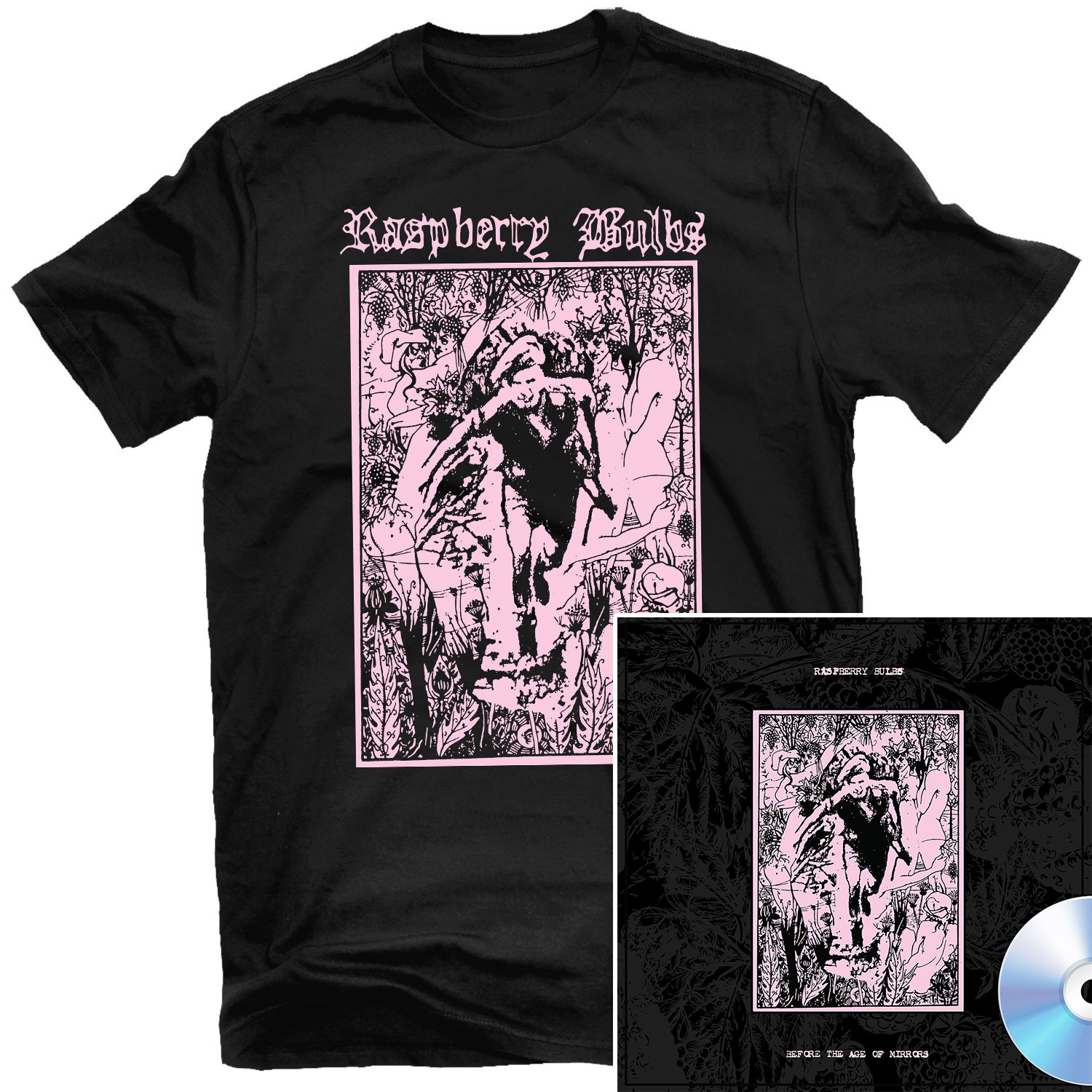 Before The Age Of Mirrors T Shirt + CD Bundle