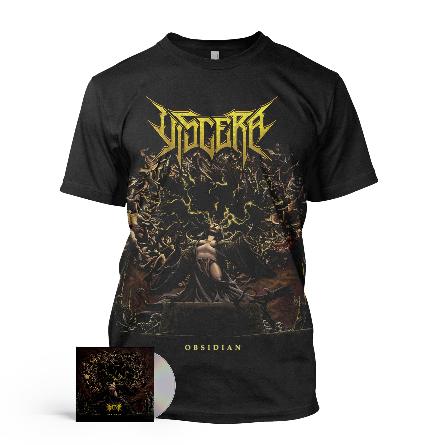Obsidian CD + Tee Bundle