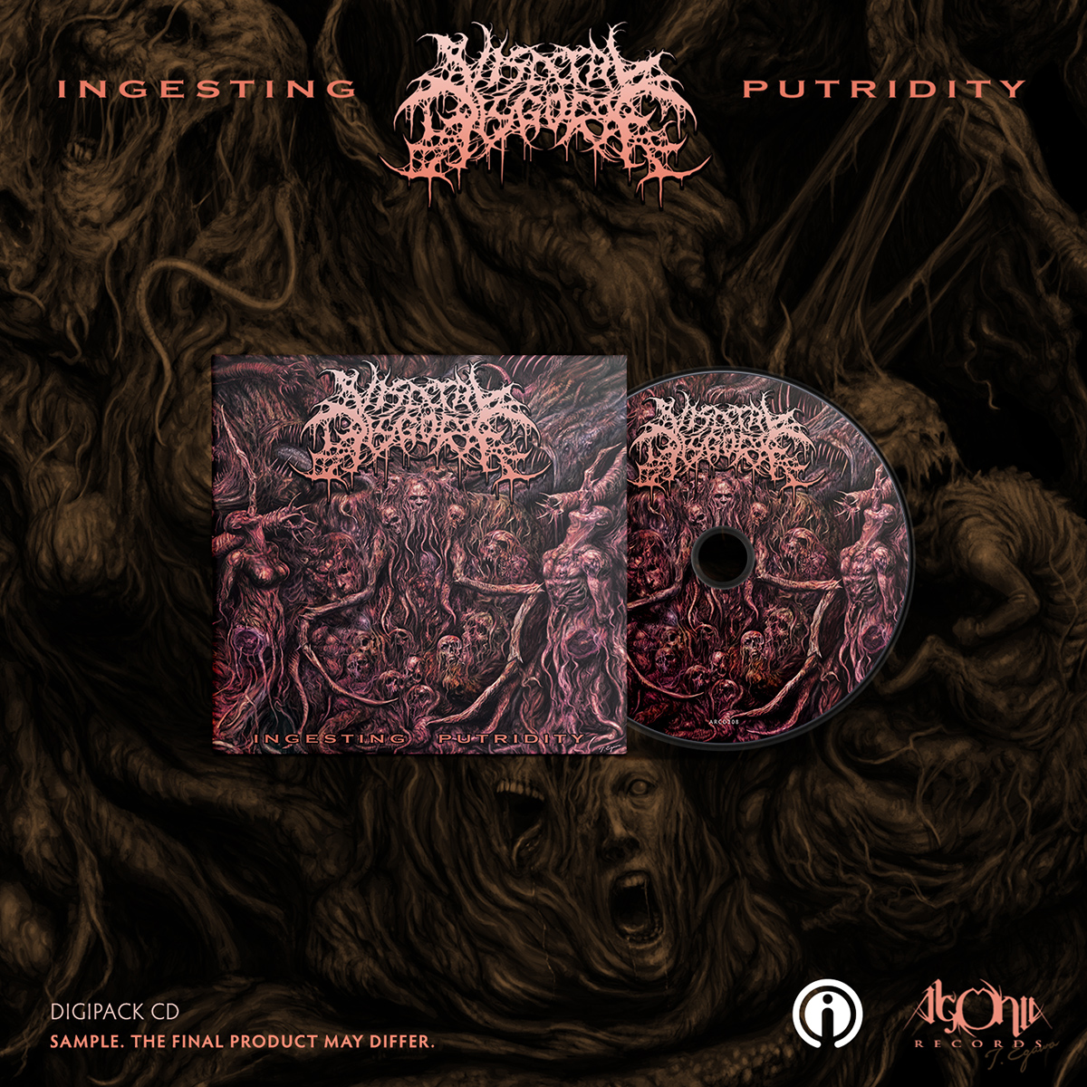 Ingesting Putridity Digipak + Tee Bundle