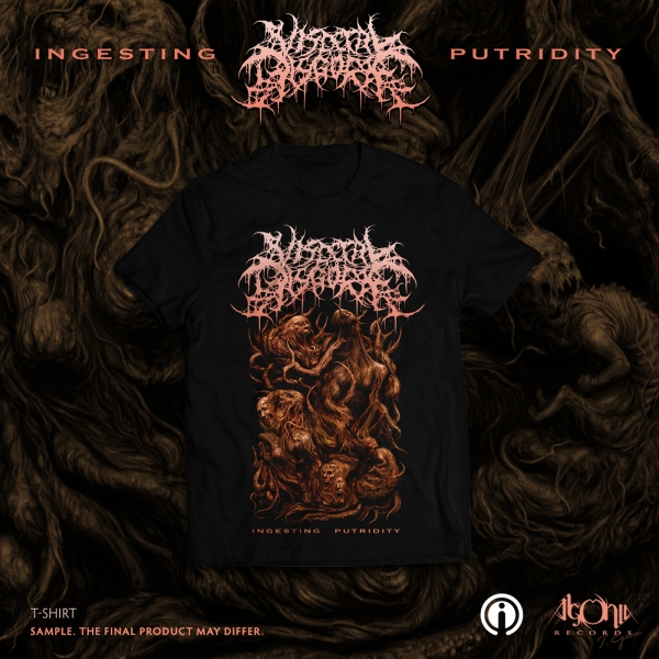 Ingesting Putridity Black Vinyl + Tee Bundle