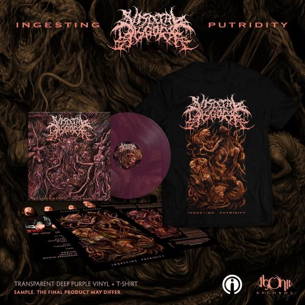 Ingesting Putridity Purple Vinyl + Tee Bundle