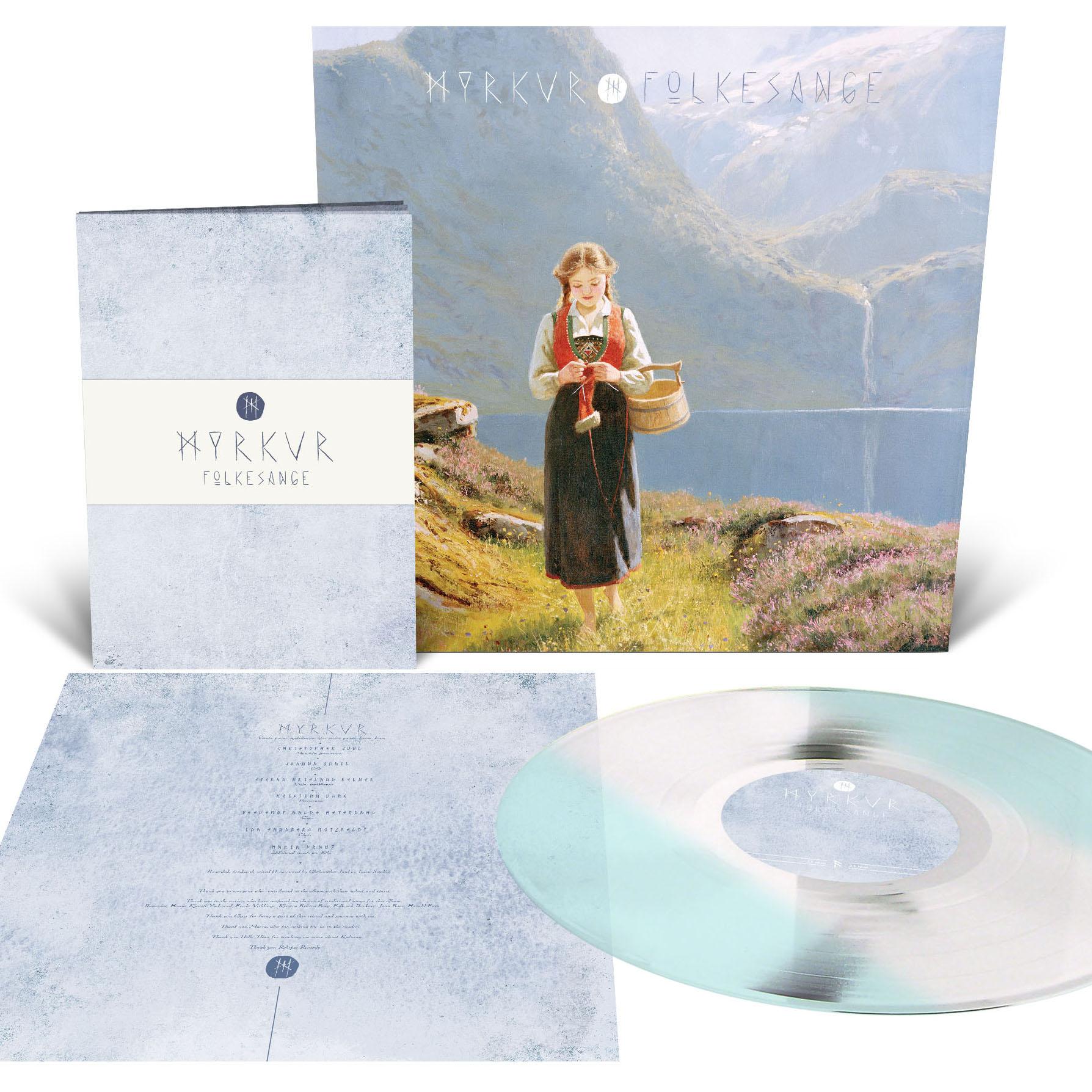 Folkesange LP + Lyric Booklet