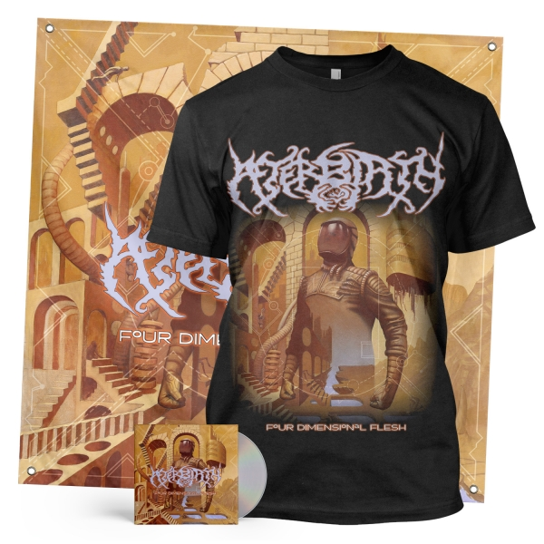 Four Dimensional Flesh CD + Tee Bundle