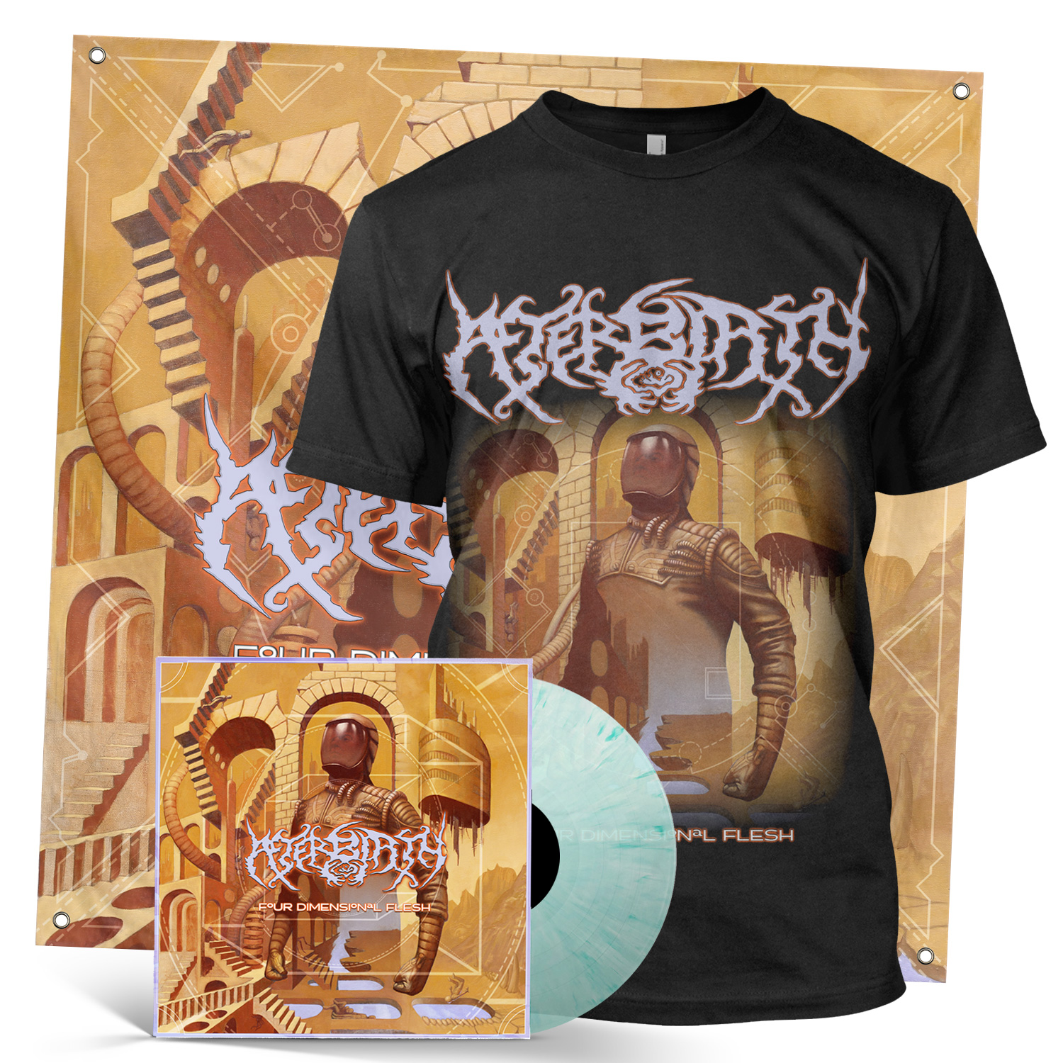 Four Dimensional Flesh LP + Tee Bundle