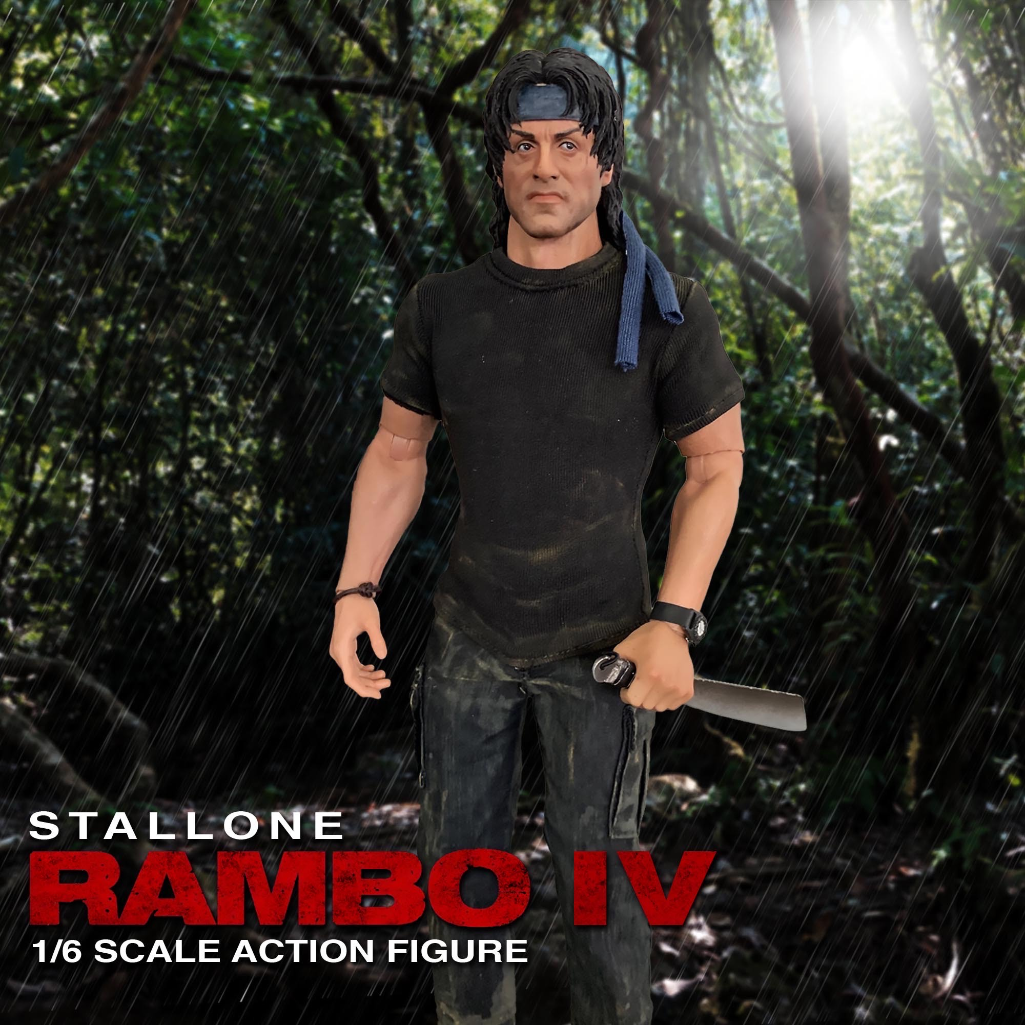 "John Rambo ""RAMBO"" 1/6 Scale Action Figure"