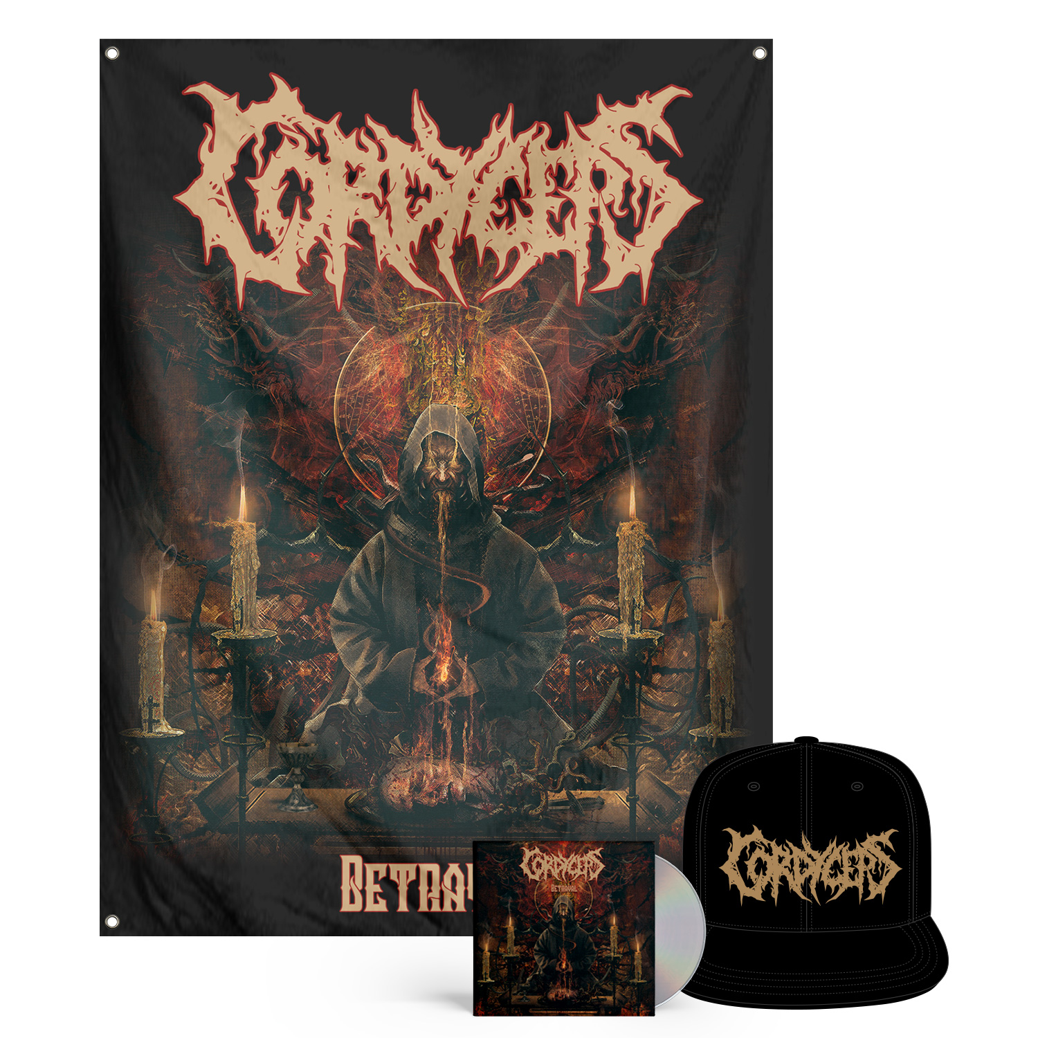 Betrayal CD + Hat Bundle