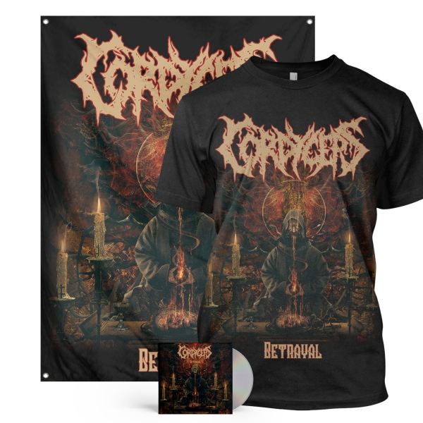 Betrayal CD + Tee Bundle