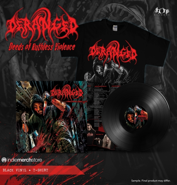 Deeds Vinyl + Tee Bundle