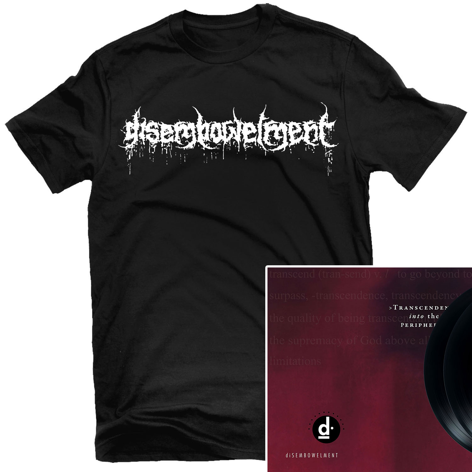 Classic Logo T Shirt + Trascendence into the Peripheral 2LP Bundle