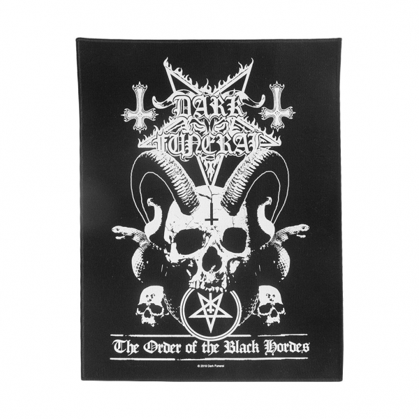Black Hordes Back Patch