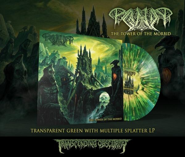 The Tower of the Morbid - Splatter LP