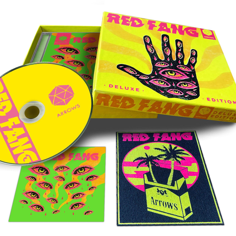 Arrows T Shirt + Deluxe CD Boxset Bundle