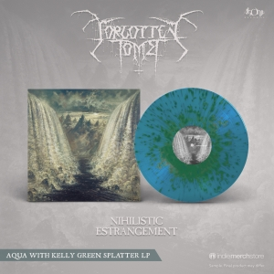 Nihilistic Estrangement Splatter vinyl with poster