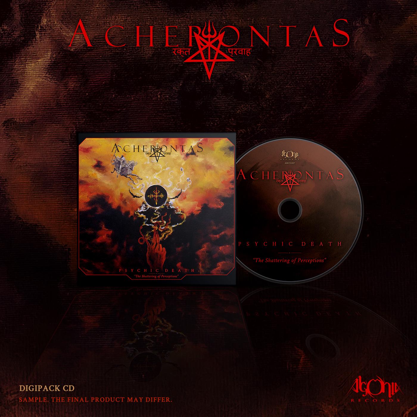 Psychicdeath Digipak CD Bundle