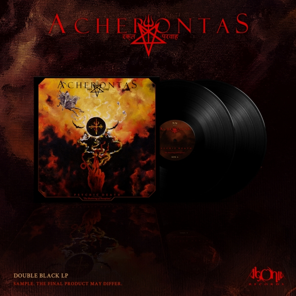 Psychicdeath - The Shattering of Perceptions Double Black Vinyl