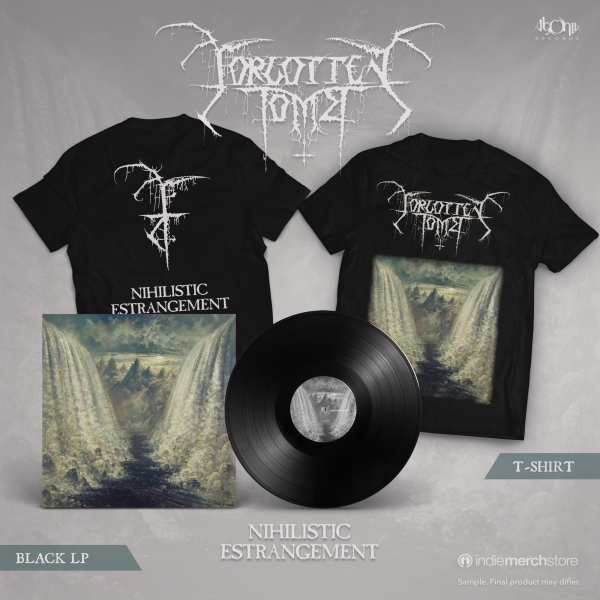 Nihilistic Estrangement Black Vinyl Bundle