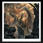 Skeletal Remains. (Devouring Mortality) Album Cover Print