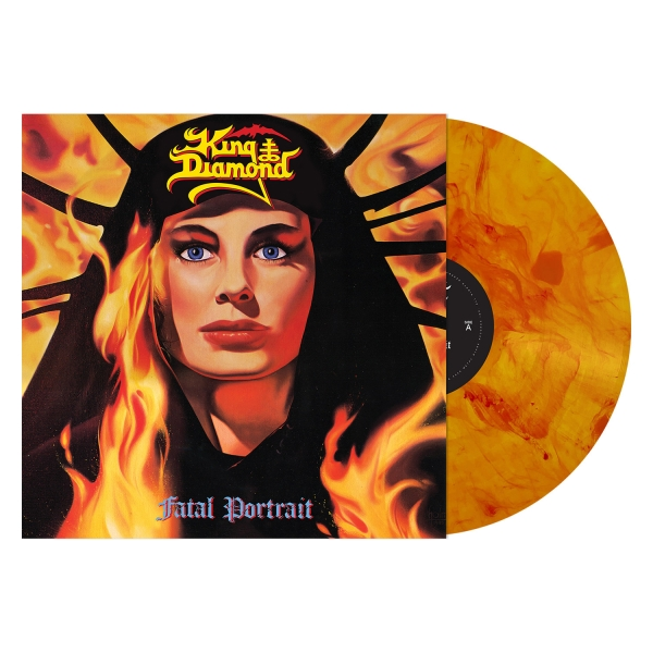 Fatal Portrait (Orange Spots Vinyl)